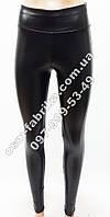 Кожаные модные женские лосины на флисе, фото 1