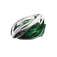 Шлем EXUSTAR BHR104-1 22 отверстия, регулятор, размер L 59-60 см зеленый