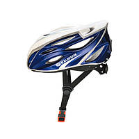 Шлем EXUSTAR BHR104-1 22 отверстия, регулятор, размер L 59-60 см синий