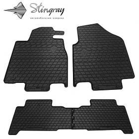 Гумові килимки Акура MDX Acura MDX (YD2) 2007 - Stingray комплект чорний