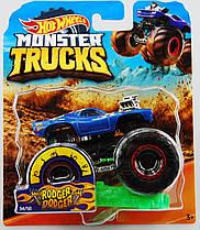 Машинка Hot Wheels Monster Jam 1:64  Rodger Dodger