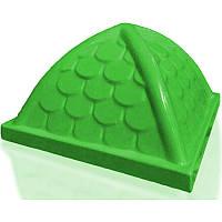 Крыша пластиковая 900х900 зеленая
