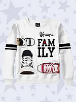 Свитшот детский We are family shoes