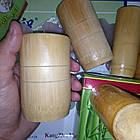 Бамбуковые массажные банки набор 3шт, фото 2