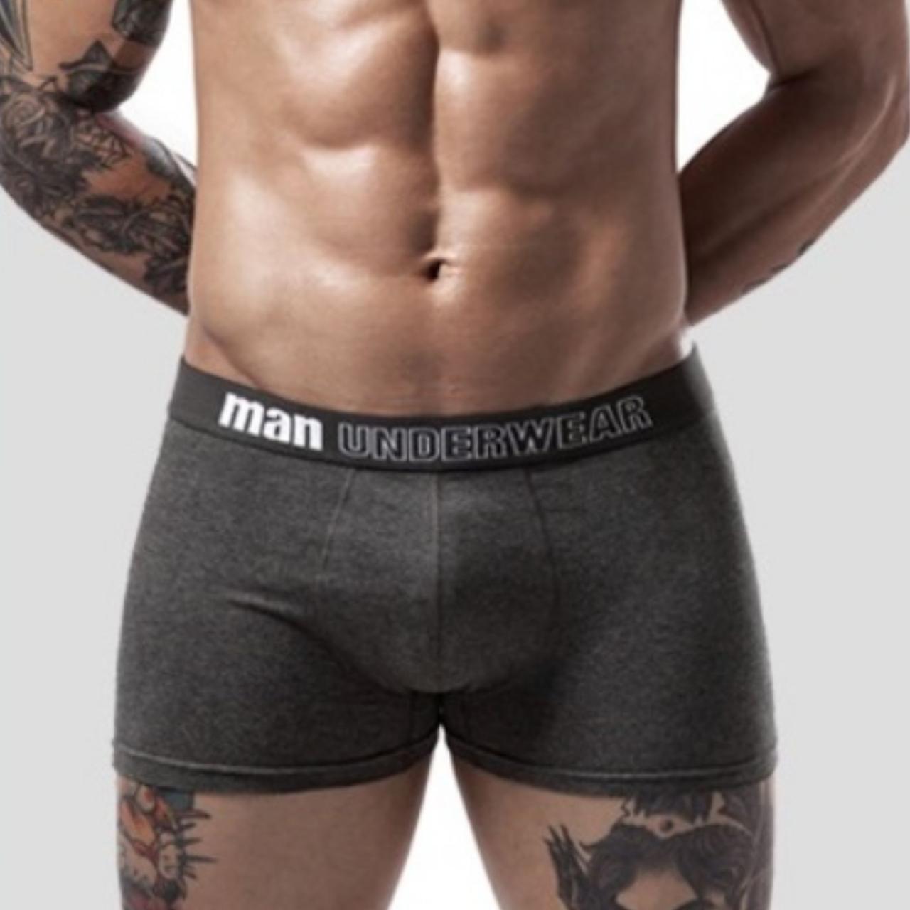 Мужские трусы боксеры транки Man Underwear 2019 5 цветов хлопок