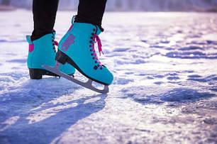 Ковзани льодові та хокейні