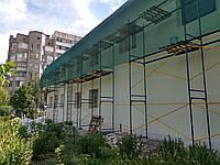 Леса строительные рамные, max 40 м Фасадные леса облегчённые от производителя