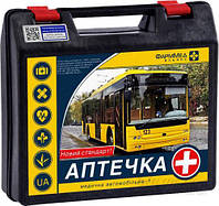 Аптечка автомобильная для городских автобусов и микроавтобусов