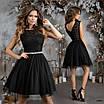 Платье нарядное, гипюр, сетка  42,44,46, фото 4