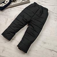 Детские зимние болоневые штаны 98,134