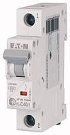 Автоматичний вимикач 40А, х-ка C, 1 полюс, 4,5 кА HL-C40/1