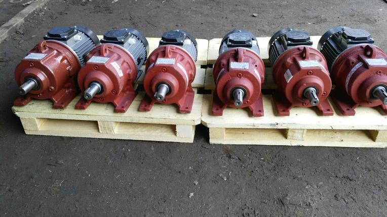 Мотор - редуктор 3МП 31,5 - 45 с 0,55 кВт 1500 об/мин, фото 2