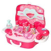 Набор аксессуаров для девочки 008-917A в пластиковом чемодане