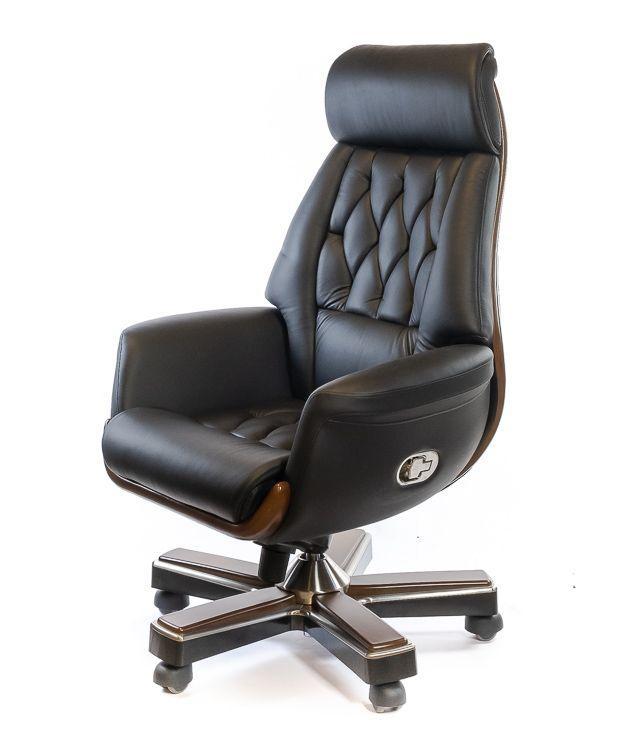 Кресло Миллер • АКЛАС • EX RL-MB черный, коричневый