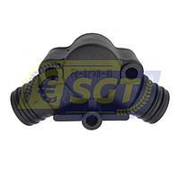 Елемент 3 (під клапан) нагнітального колектора насоса Tolveri PU-3/140, фото 1