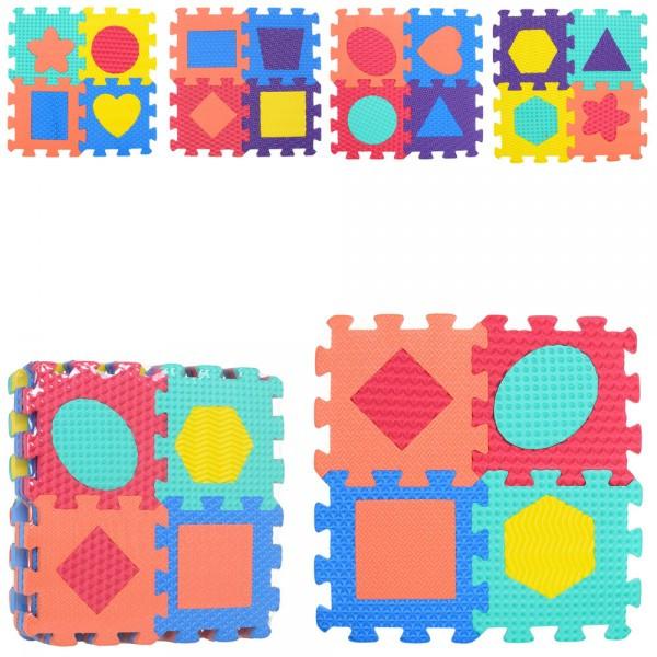 Килимок Мозаїка тепла підлога геометричні фігури M 2624