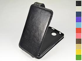 Откидной чехол из натуральной кожи для Alcatel 8000D OneTouch Scribe Easy