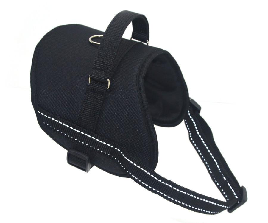 Шлея для собак Вояж №3 черная