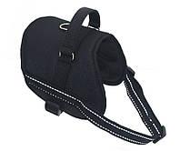 Шлея для собак Вояж №3 черная, фото 1