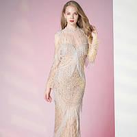 Свадебное Вечернее Выпускное платье рыбка. Выпускное платье. Вечірня сукня. Вечернее платье ручной работы