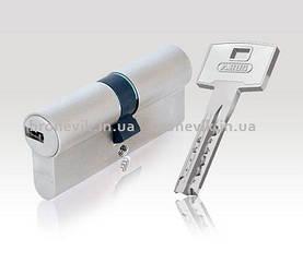 Цилиндр Abus M12R 60мм (30х30) ключ/ключ 5 кл. Матовый хром