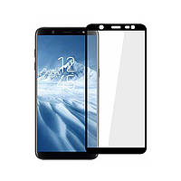 Защитное стекло Full Cover Glass (на весь экран) для Samsung Galaxy J8-2018 (J810)