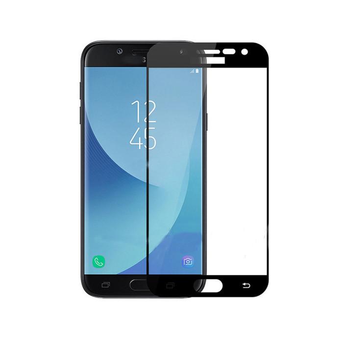 Защитное стекло Full Cover Glass для Samsung Galaxy J7-2017 (J730)