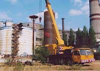 Комплексные работы по демонтажу технологического оборудования и инженерных конструкций на резервуарах
