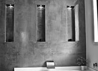 Микроцемент нанесение стена Baufloor Creativo микробетон штукатурка