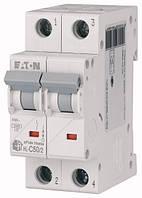 Автоматичний вимикач 50А, х-ка C, 2 полюса, 4,5 кА HL-C50/2