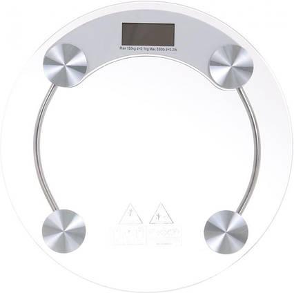 Весы электронные напольные Matarix MX 415B 180 кг круглые