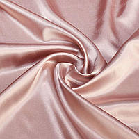 Атлас стрейч шамус рожевий з коричневим відтінком ш.150 (10119.027)