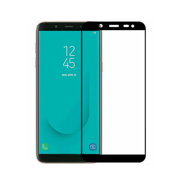 Защитное стекло Full Cover Glass для Samsung Galaxy J6-2018 (J600)