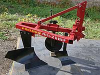 Плуг для минитрактора ПН 1-25 ПР-Р (с предплужником, дополнительная регулировка)