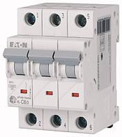 Автоматичний вимикач 6А, х-ка C, 3 полюса, 4,5 кА HL-C6/3