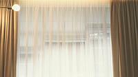 Текстильное оформление 1-й этаж кухня и зал: карнизные системы, шторы, римские шторы, тюль.