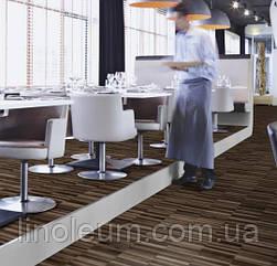 Ковролін флокіроване покриття Flotex vision naturals 010018 linear walnut для кафе і ресторанів