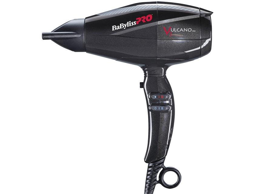 Фен для волос Babyliss BAB6180IBE Vulcano V3 Ionic с ионизацией, 2200 Вт