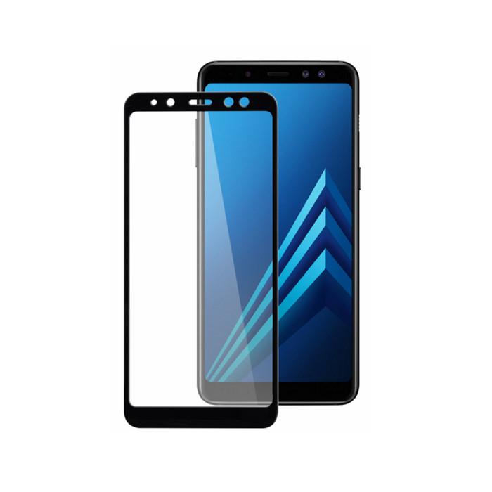 Защитное стекло Full Cover Glass для Samsung Galaxy A8-2018 (a530)