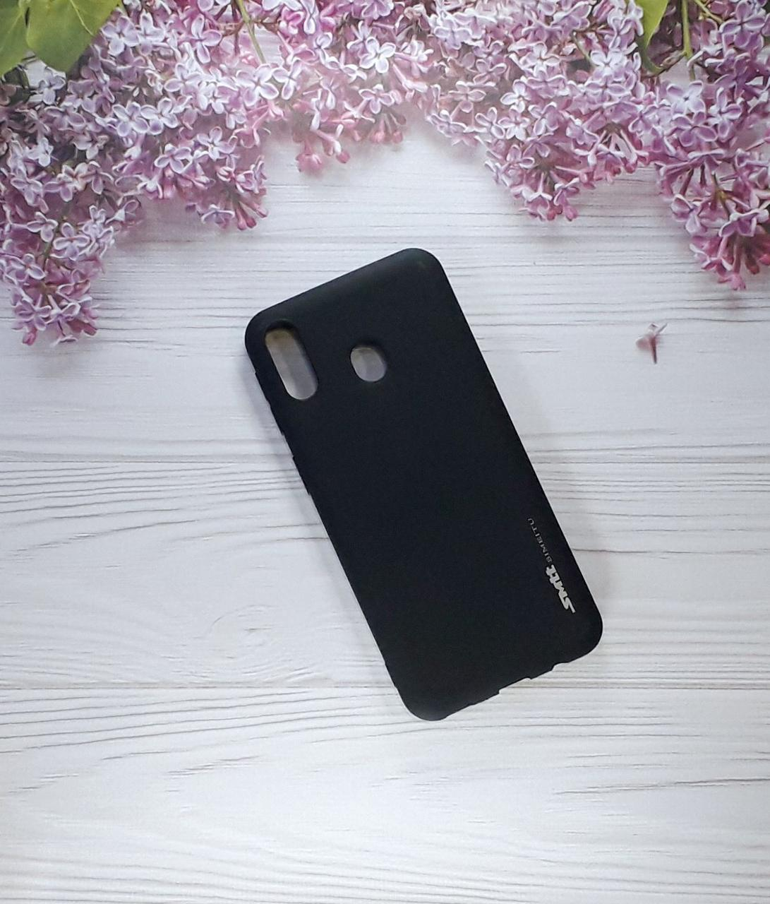 Чехол накладка на Samsung M20 (2019), Black