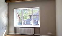 Текстильное оформление гостевой спальни: карнизные системы, комбинированные шторы, тюль.