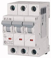 Автоматичний вимикач 10А, х-ка C, 3 полюса, 4,5 кА HL-C10/3