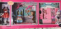 Игровой набор кукла с мебелью 288-3А