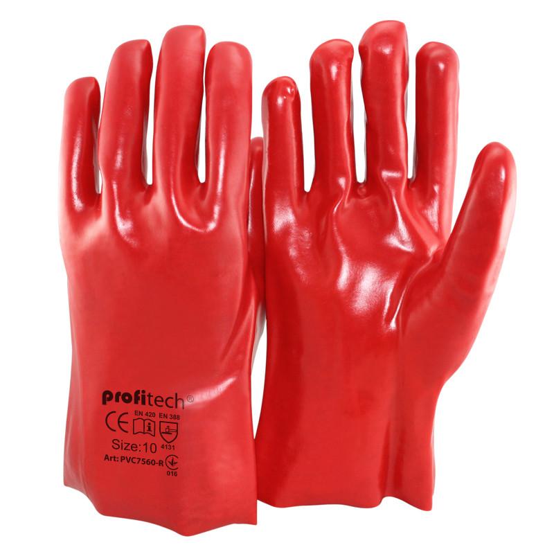 Перчатки защитные PROFITECH маслобензостойкие 35см