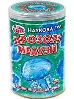Наукова гра: Прозорі медузи