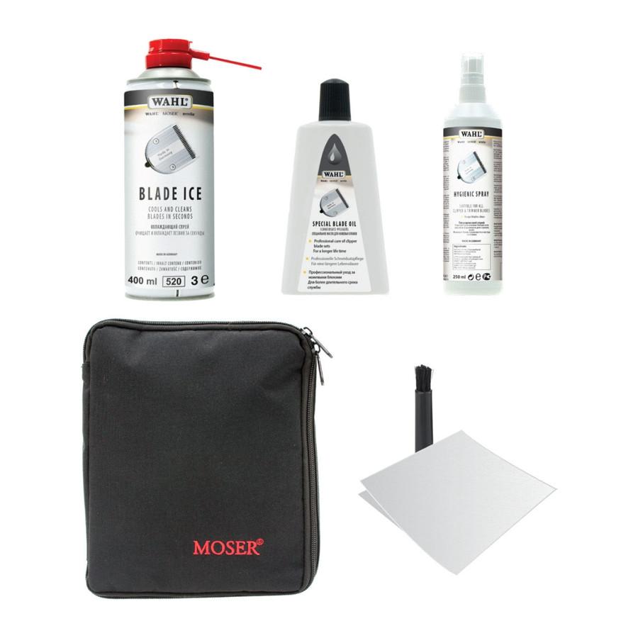 Набор для ухода за ножами машинок для стрижки Moser Blade Care Set, 1000-7410
