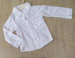 Детская рубашка 3-6 белая  2701121