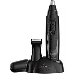 Триммер для носа и ушей Ga.Ma GNT512 с двумя сменными насадками, GM2101