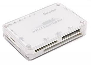 Концентратор Viewcon USB3.0 VE 669 White