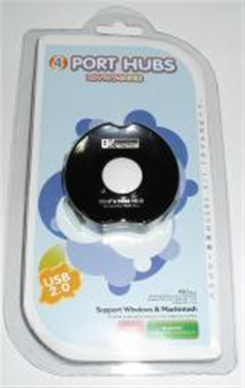Концентратор USB2.0 Atcom TD1031 Black (10720) 4хUSB2.0